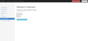 CTparental - Contrôle parental pour Linux - Activation Safesearch dans moteurs de recherche