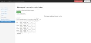 CTparental - Contrôle parental pour Linux - Contrôle activité