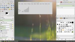 GIMP - Interface par défaut