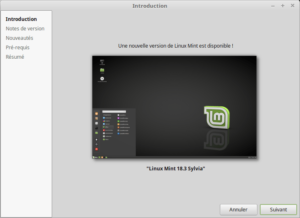 1- Mettre à jour vers Linux Mint 18.3 - Introduction