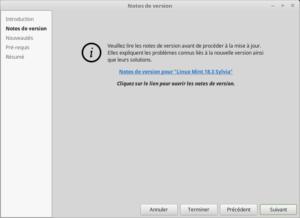 2- Mettre à jour vers Linux Mint 18.3 - Notes de version