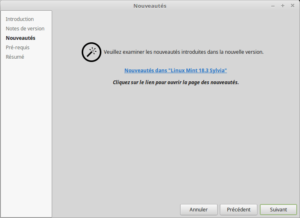 3 - Mettre à jour vers Linux Mint 18.3 -Nouveautés