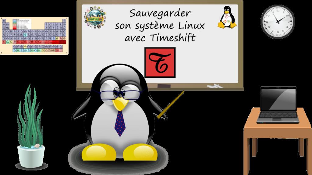 Sauvegarder son système Linux avec Timeshift