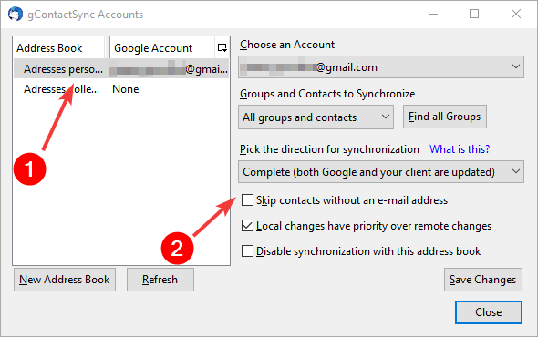 gcontactsync - skip contacts without e-mail