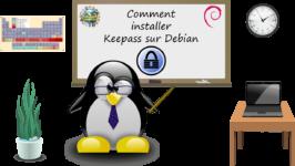 Comment installer KeePass sous Debian