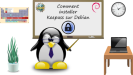 Comment installer KeePass sous Debian