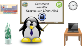 Comment installer KeePass sous Linux Mint