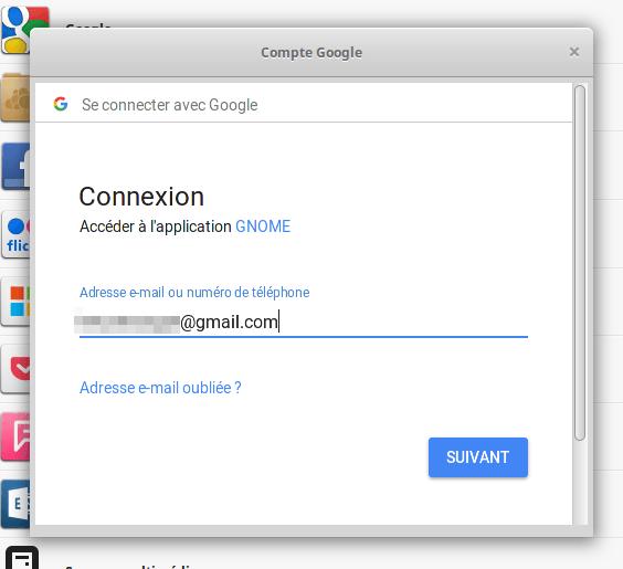 Comment utiliser Comptes en ligne dans Linux Mint Cinnamon