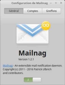 Configuration de Mailnag - Général