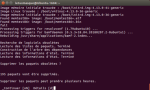 do-release-upgrade - Nettoyage post-installation