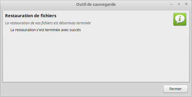mintbackup - restauration de fichiers 3