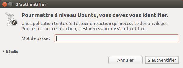Ubuntu 16.04 vers Ubuntu 18.04 - 3 - S'authentifier