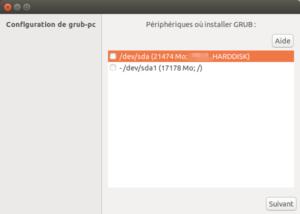 Ubuntu 16.04 vers Ubuntu 18.04 - 7 - GRUB