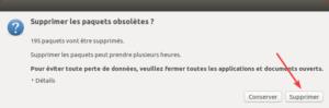 Ubuntu 16.04 vers Ubuntu 18.04 - 8 - Nettoyage post-installation