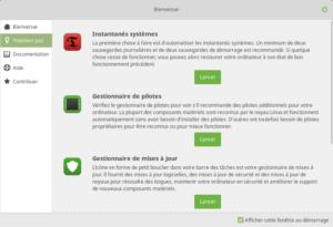 Linux Mint 19 - Premier pas