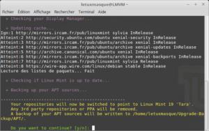 mintupgrade download - Suppression des dépôts tierces