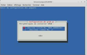 Configuration de GRUB