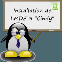 Installation de LMDE 3