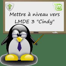 Tuto mettre à niveau vers LMDE 3