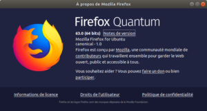 firefox 63 - à propos