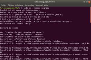 Mise à niveau vers Ubuntu 18-10 en ligne de commande - 1