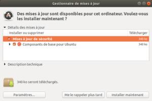 Mises à jour Ubuntu 18.04