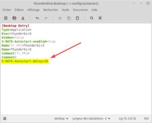 exemple de fichier lanceur application au démarrage avec délai