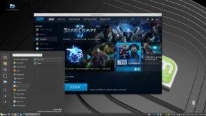 Starcraft 2 sous Linux grâce à Winepak