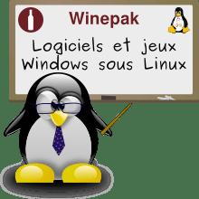 Winepak logiciels et jeux Windows sous Linux