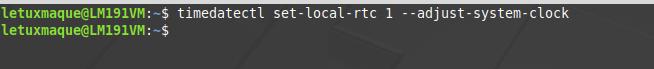 Différence heure entre Windows et Linux : Passer Linux en heure locale