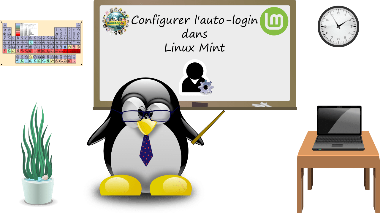 thumbnail tutoriel auto-login dans linux mint