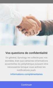 Questions de confidentialité