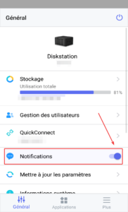 Activer notifications