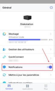 Activer notifications
