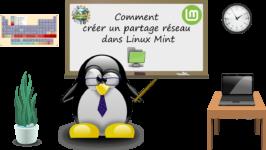 Comment créer un partage réseau dans Linux Mint ?