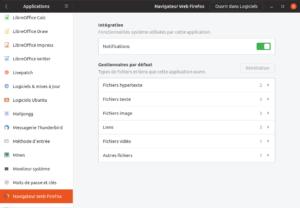 Autorisation Application Firefox