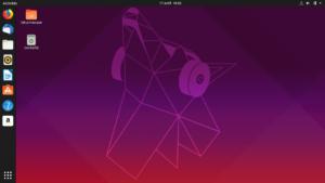 Bureau Ubuntu 19.04 Disco Dingo