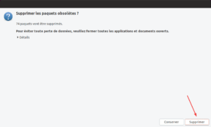 Mise à niveau vers Ubuntu 19.04 - Suppression paquets obsolètes