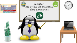 Installer des polices de caractères dans Linux Mint