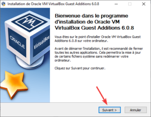 Installation additions invité virtualbox pour support USB 2 ou 3 dans la VM 1
