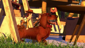 Buster, le chien d'Andy dans Toy Story