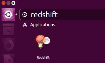 Ubuntu 16.04 - raccourci redshift