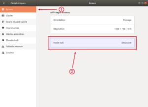 Ubuntu 18.04 - écrans