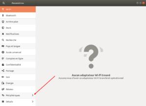 Ubuntu 18.04 - paramétres