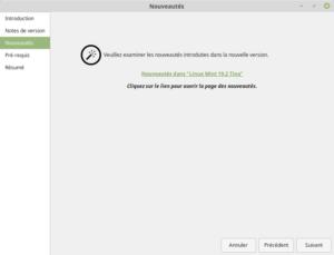 Nouveauté Linux Mint 19.2