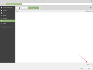 Export vers fichier CSV des mots de passe de firefox pour KeePass