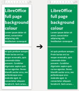 Changement couleur fond de page