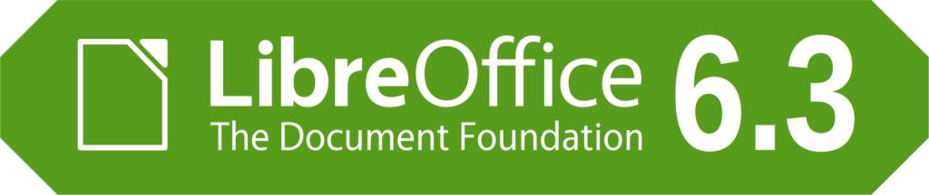 Bannière LibreOffice 6.3