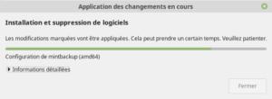 Installation de la mise à jour vers Linux Mint 19.2