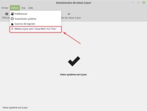 mettre a jour vers Linux Mint 19.2